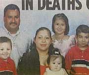 Angelica Alvarez and family